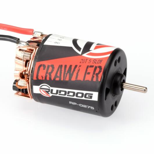 Ruddog Crawler 5-Slot kefés motor 20T 540
